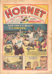 Hornet story reviews. Front cover 